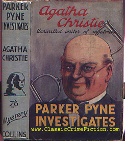 Parker Pyne Agatha Christie Parker Pyne Investigates First Edition