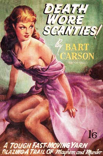 Bart Carson - Death Wore Scanties