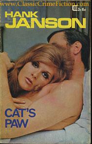Hank Janson Cat's Paw