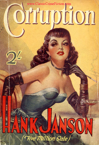 Hank Janson Broads Corruption Heade