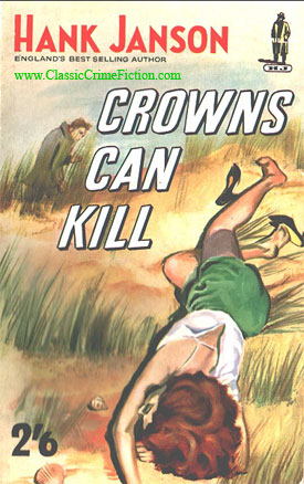 Hank Janson Crowns Can Kill