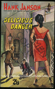 Hank Janson Delicious Danger