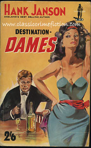 Hank Janson Destination Dames