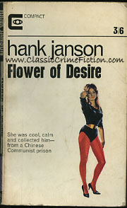 Hank Janson Flower of Desire