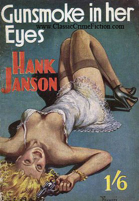 Hank Janson Gunsmoke in Her Eyes