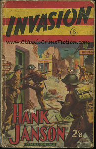 Hank Janson Invasion