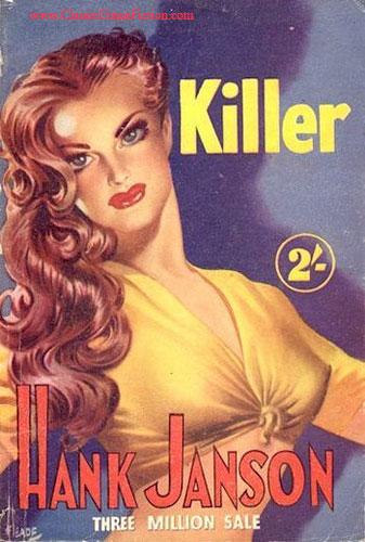 Hank Janson Killer Heade