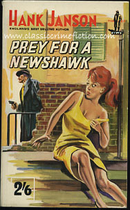 Hank Janson Prey for a Newshawk
