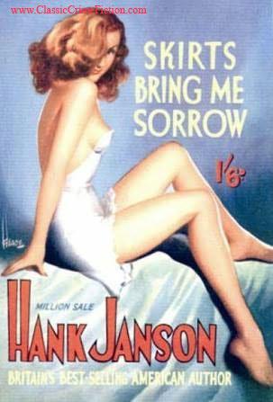 Hank Janson Skirts Bring Me Sorrow Heade
