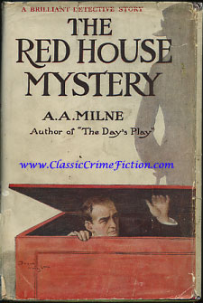 Aa Milne The Red House Mystery First Edition Book