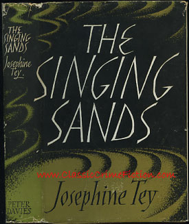 Josephine Tey The Singing Sands